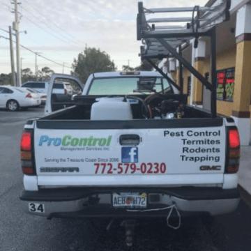 Pest Control Truck (772)579-0230