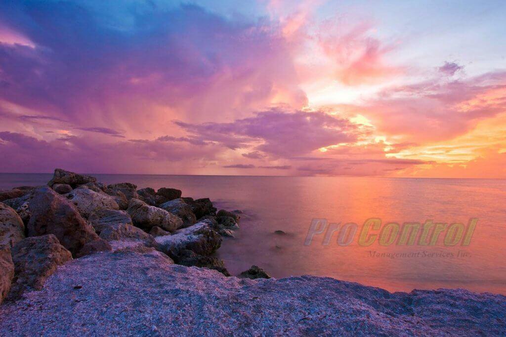 ocean sunset in Florida